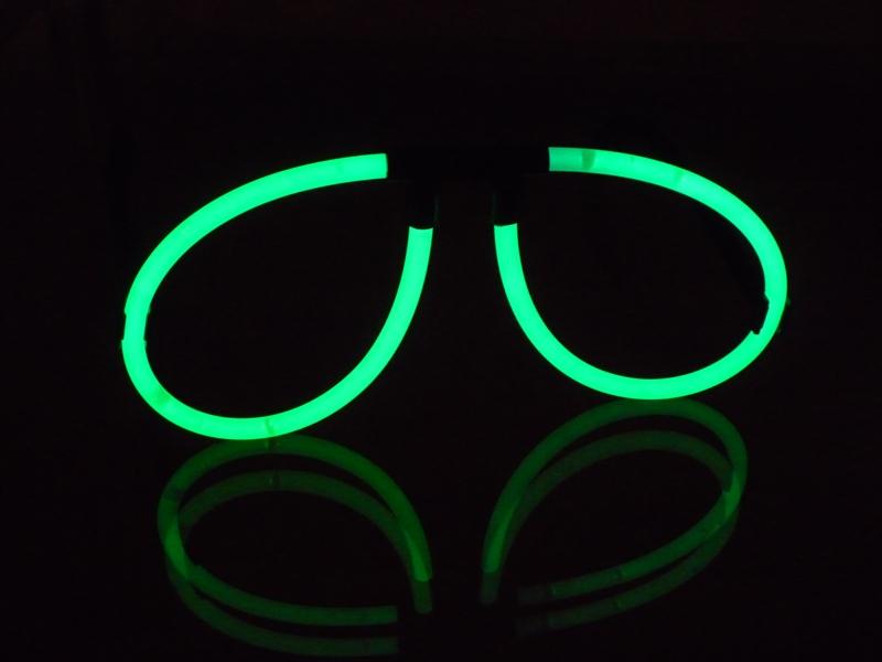 EL Wire leuchtende Brille NEON-GRÜN - Bei uns finden Sie ...